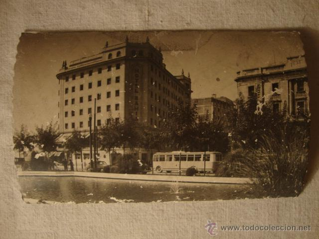 ANTIGUA POSTAL ORIGINAL AÑOS 40/50. SANTANDER HOTEL (Postales - Postales Temáticas - Hoteles y Balnearios)