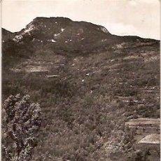 Postales: ANTIGUA POSTAL Nº 13 AGUAS DE RIBAS BALNEARIO DE MONTAGUT ESCRITA 1962 COMERCIAL PRAT. Lote 51551631