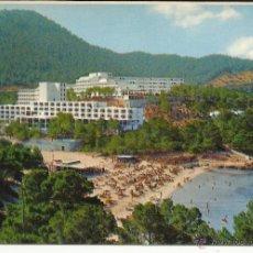Postales: POSTAL HOTEL GRECO Y PRESIDENTE PLAYA PORTINATX IBIZA. Lote 51723602