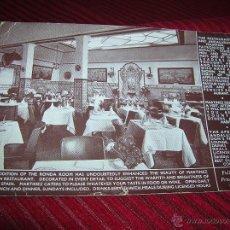 Postales: POSTAL MARTINEZ SPANISH RESTAURANT. Lote 53675458