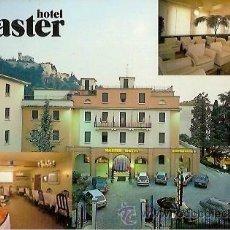 Postales: POSTAL A COLOR MASTER HOTEL BRESCIA. Lote 54037991