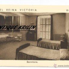 Postales: RONDA .- MALAGA .-HOTEL REINA VICTORIA .- DORMITORIO .- EDICION F. MESAS. Lote 54044815