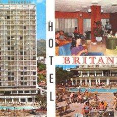 Cartes Postales: MALLORCA, HOTEL BRITANIA, CIRCULADA CON SU SELLO. Lote 54859479