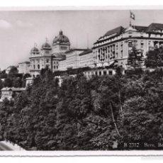Postales: POSTAL EN BLANCO Y NEGRO - BELLEVUE PALACE, BERNE. Lote 56050786
