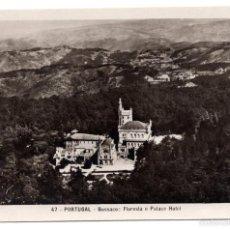 Postales: POSTAL EN BLANCO Y NEGRO - PORTUGAL - BUSSACO, FORESTA E PALACE HOTEL . Lote 56050815