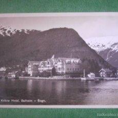 Postales: POSTAL - EUROPA - NORUEGA - KVIKNES HOTEL BALHOLM, SOGN - ENERET CARL NORMANNS - KUNSTFORLAG, HAMAR. Lote 56472042