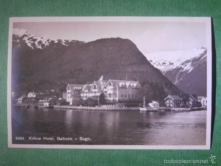 Postales: Postal - Europa - Noruega - Kviknes Hotel Balholm, Sogn - Eneret Carl Normanns - Kunstforlag, Hamar - Foto 2 - 56472042