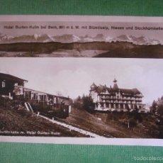 Postales: POSTAL - EUROPA - SUIZA - BERN - BERNA - HOTEL GURTEN-KULM - ELEKTR. GURTENBAHN M. - ESCRITA EN 1926. Lote 56473589