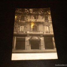 Postales: LA DIRECCION DEL HOTEL GRAN VIA LE DESEA FELICES PASCUAS / BARCELONA 1948. Lote 56913168