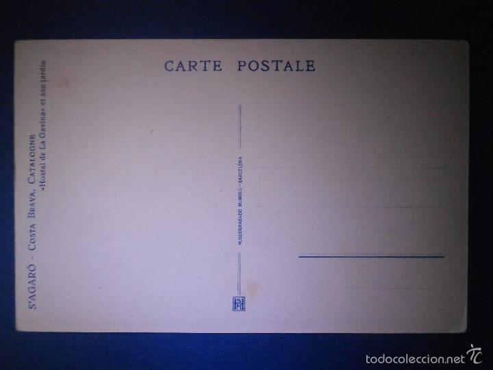 Postales: Postal - España - Costa Brava - SAgaró - Hostal de la Gavina - Huecograbado Mumbrú - Nueva - - Foto 2 - 56969978