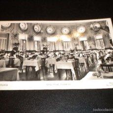Postales: TARJETA POSTAL CESTONA - GRAN HOTEL COMEDOR / MANIPEL Nº 142205. Lote 57020803