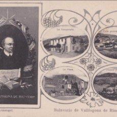 Postales: P- 5733. POSTAL BALNEARIO DE VALLFOGONA DE RIUCORP. L. ARMENGOL. Nº1.. Lote 57058882
