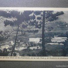 Postales: POSTAL - ESPAÑA - PONTEVEDRA - MONDARITZ - PINTORESCO 5 VISTA DEL GRAN HOTEL Y SANATORIO. Lote 57124810