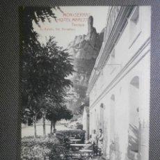 Postales: POSTAL - ESPAÑA - BARCELONA - MONTSERRAT, HOTEL MARCET - TERRAZA - L. ROISIN - SIN CIRCULAR -. Lote 57125024