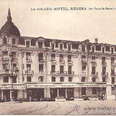 Postales: PS3110 TOULOUSE 'LE GRAND HOTEL RÉGINA (EN FACE LA GARE)'. SIN REFERENCIAS Y SIN CIRCULAR. Lote 57125438
