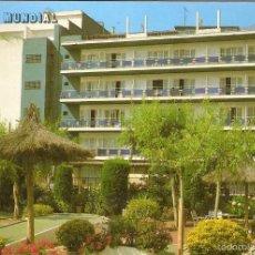 Postales: POSTAL HOTEL MUNDIAL LLORET DE MAR COSTA BRAVA GIRONA CATALUNYA ESPAÑA SPAIN. Lote 57513868