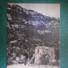 Postales: POSTALES - ESPAÑA - BARCELONA - MONSERRAT - DEPENDENCIAS DE HOTEL RESTAURANT COLONIA PUIG - NUEVA -. Lote 57715881