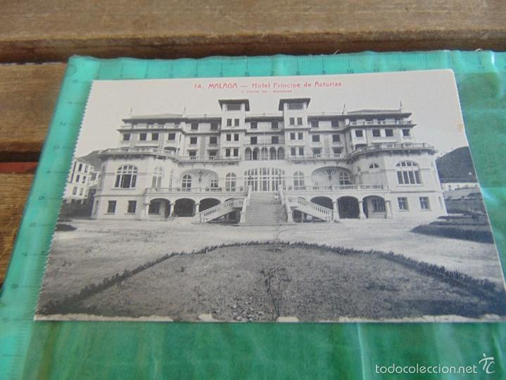 POSTAL DE MALAGA L ROISIN SIN CIRCULAR HOTEL PRINCIPE DE ASTURIAS (Postales - Postales Temáticas - Hoteles y Balnearios)