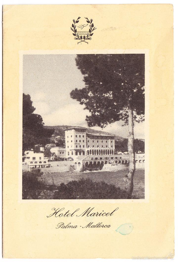 PALMA DE MALLORCA HOTEL MARICEL (Postales - Postales Temáticas - Hoteles y Balnearios)