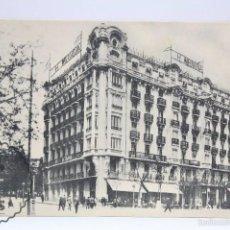 Postales: ANTIGUA POSTAL - MADRID. HOTEL MEDIODÍA - GLORIETA DE ATOCHA - PUBLICIDAD AL DORSO. Lote 59974383