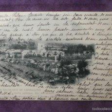 Postales: POSTAL - ESPAÑA - ORENSE - GRAN BALNEARIO DE CARBALLINO - VISTA GENERAL - HAUSER Y MENET - AÑO 1906. Lote 61220055