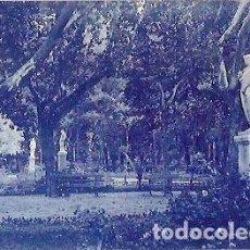Postales: ANTIGUA POSTAL TERMAS PALLARES ALHAMA DE ARAGON JARDINES Y PARQUE. Lote 61801208