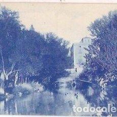 Postales: ANTIGUA POSTAL TERMAS PALLARES ALHAMA DE ARAGON UNA VISTA DEL LAGO. Lote 61801300