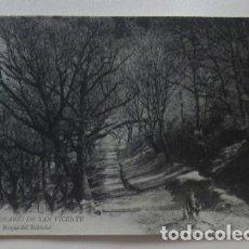 Postales: POSTAL DEL BALNEARIO DE SAN VICENTE - BOSQUE DE ROBLEDAL. Lote 62158940