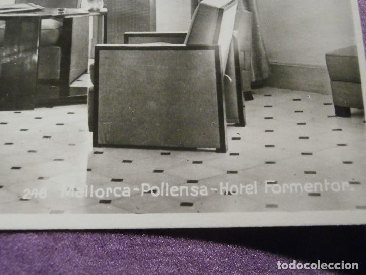 Postales: POSTAL - ESPAÑA - MALLORCA - POLLENSA - 248. HOTEL FORMENTOR - EDICIONES AM - NUEVA - Foto 2 - 62449180