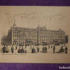 Postales: POSTAL - CONTINENTAL HOTEL - BERLIN - LOUIS ADLON - SIN ESCRIBIR -. Lote 66493894
