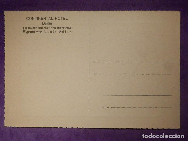 Postales: Postal - Continental Hotel - Berlin - Louis Adlon - Sin escribir - - Foto 2 - 66493894
