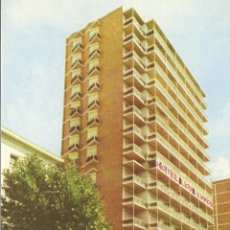 Postales: POSTAL DEL HOTEL LOS LLANOS ALBACETE. Lote 66755682