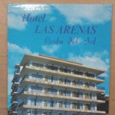 Cartes Postales: HOTEL LAS ARENAS - BENALMADENA COSTA. Lote 67041646