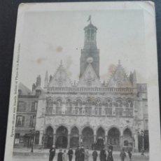 Postales: 35 SAN QUINTÍN HOTEL DE VILLE PARÍS 26 AGOSTO 1902. Lote 71533643
