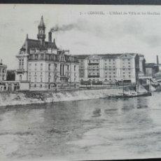 Postales: 5 CORBEIL HOTEL DE VILLE. Lote 71533749