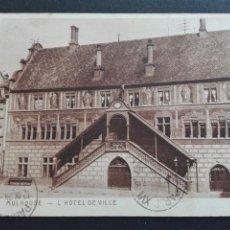 Postales: MULHOUSE HOTEL DE VILLE. Lote 71533825