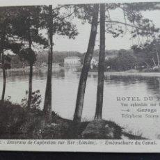 Postales: HOTEL DEL PARQUE HOSSEGOR. Lote 71534279