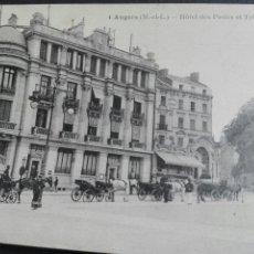 Postales: CUATRO ANGERS HOTEL DE POST Y TELÉGRAFOS. Lote 71536213