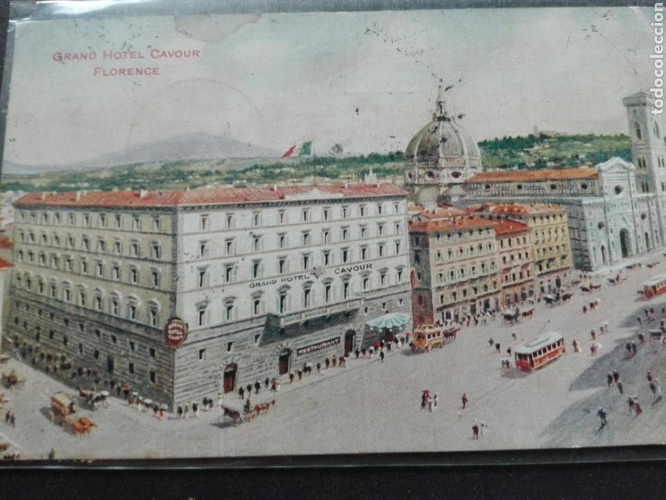 GRAND HOTEL CAVOUR FLORENCIA (Postales - Postales Temáticas - Hoteles y Balnearios)