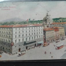 Postales: GRAND HOTEL CAVOUR FLORENCIA. Lote 71586175