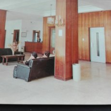 Postales: 2 BALNEARIO DE LEDESMA SALAMANCA RECIBIDOR DEL HOTEL. Lote 74315706