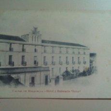 Postales: POSTAL GERONA CALDAS DE MALAVELLA BALNEARIO HOTEL SOLER. Lote 71945858