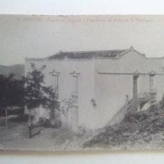 Postales: POSTAL CASTELLÓN BENASAL FUENTE SEGURES PABELLONES DE ARRIBA. Lote 72301157