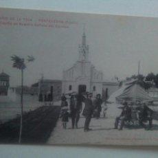 Postales: POSTAL PONTEVEDRA BALNEARIO LA TOJA CAPILLA DE NUESTRA SEÑORA DEL CARMEN. Lote 72307377