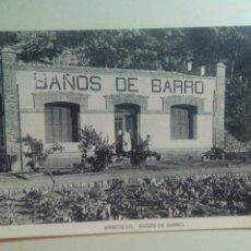 Postales: POSTAL LA RIOJA BALNEARIO ARNEDILLO BAÑOS DE BARRO. Lote 72340787