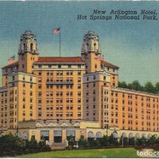 Postales: ** AC794 - PEQUEÑA POSTAL - NEW ARLINGTON HOTEL - HOT SPING NATIONAL PARK - ARK.- RF. FA0. Lote 72449511