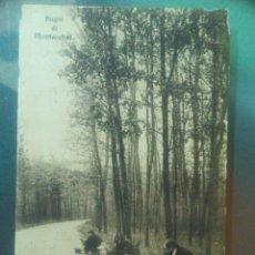Postales: POSTAL CIRCULADA 1911 DE ITALIA A GOYA ARGENTINA BAGNI DI MONTECATINI. Lote 73961627