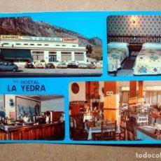 Postales: POSTAL, HOSTAL LA YEDRA, ANTEQUERA, MALAGA. Lote 76756511