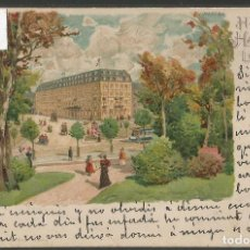 Postales: POSTAL HOTEL HAUFFE - LEIPZIG - VER REVERSO SIN DIVIDIR - (46.680). Lote 76908463