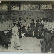 Postales: POSTAL FRANCIA VICHY 1915 BALNEARIO GARGARISMOS. Lote 82460944